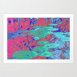 Lily Pool Art Print