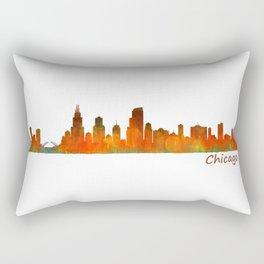 Chicago City Skyline Hq v1 Rectangular Pillow