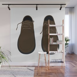 Pair Of Shoes Wall Mural
