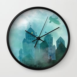 Foggy Night Wall Clock