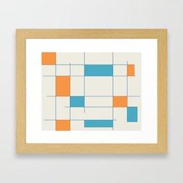 Mid-Century Modern Art 2.5 Framed Art Print