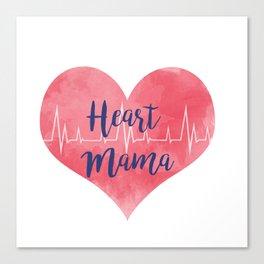 Heart Mama Canvas Print