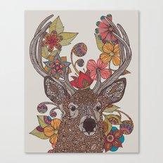 Hello my Deer Canvas Print