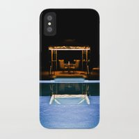 A Swim At Midnight Slim Case iPhone X