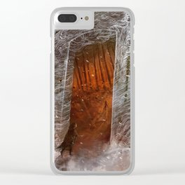 White Clear iPhone Case