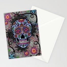 Crazy Skull  Stationery Cards