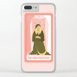 Tarot Card II: The High Priestess Clear iPhone Case