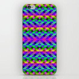 Rainbow Scaffolding iPhone Skin