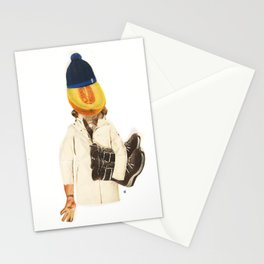 Normal Life · Melone im Kopf Stationery Cards