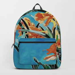 Blooming Golden Daffodils Backpack
