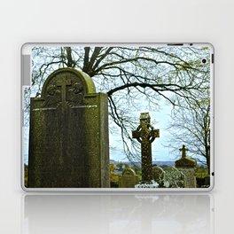 The Graveyard at Monasterboice Laptop & iPad Skin