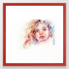 Magical  . . Child Portrait Framed Art Print