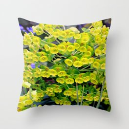 A Genetic Explosion Throw Pillow