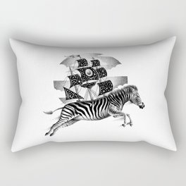 ZEBRA VESSEL Rectangular Pillow