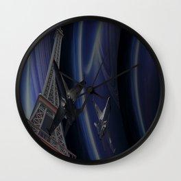 Tour Eiffel War Wall Clock
