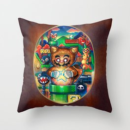 A Star in the Darkness Throw Pillow