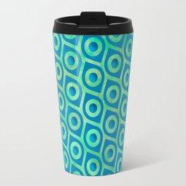 turquoise Pattern Travel Mug