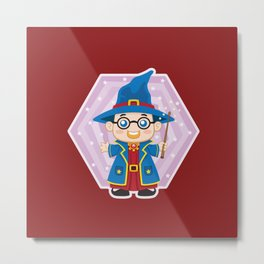 Wizard Kid Metal Print