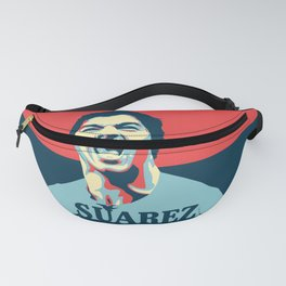 Luis Suarez, number one Uruguayan player. Fanny Pack