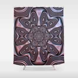 Bronze Flower #1 Shower Curtain