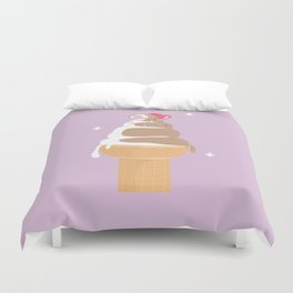 Pastel Ice-cream Dream Duvet Cover