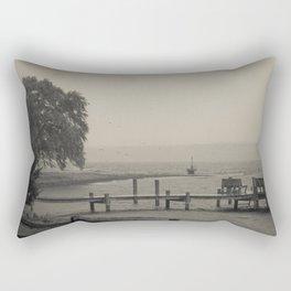 Moody Harbor Rectangular Pillow