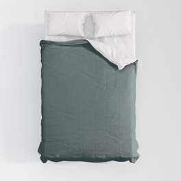 Hydro Blue Grey | Solid Colour Comforters
