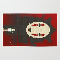 spirited away Area & Throw Rugs featuring Spirited by Danny Haas