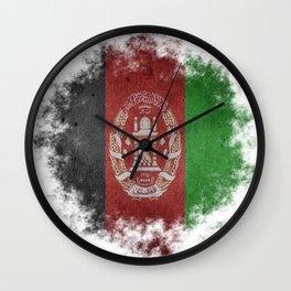 Afghanistan Wall Clock