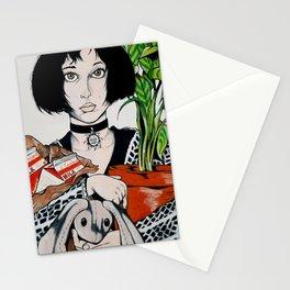 MATHILDA - THE PROFESSIONAL Stationery Cards