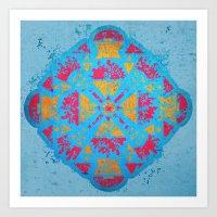 spiritual Art Prints featuring Spiritual by Caroline David