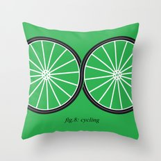 Fig.8: cycling Throw Pillow