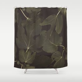 Botanical I _ Night Shower Curtain