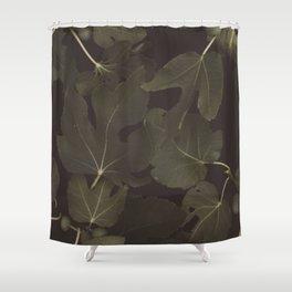 Botanical I _ Night Shower Curtain