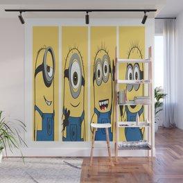 Famous Cartoon Characters No. 10-13 Wall Mural