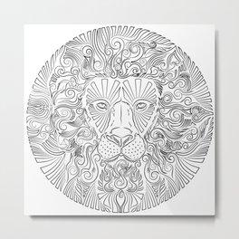 Stairway To Lion Metal Print