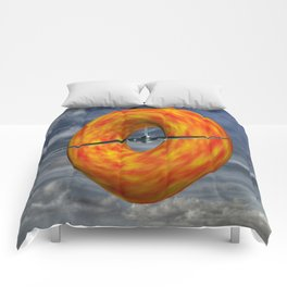 Donut Slice  Comforters