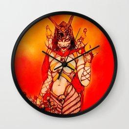 Halloween Mileena, Trick or Treat Sweet Sister. Wall Clock