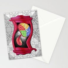 Dali Grandfather Clock Stationery Cards