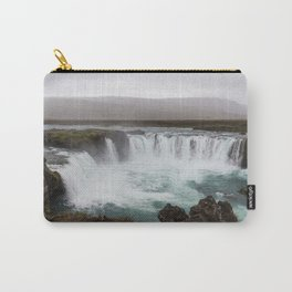 Godafoss waterfall in Iceland - nature landscape Carry-All Pouch