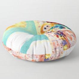 Rapunzel Floor Pillow