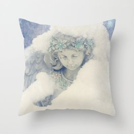 Icy Daydreams Throw Pillow