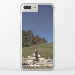To the Ocean Clear iPhone Case