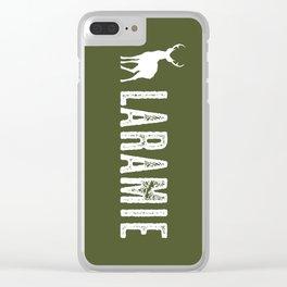 Deer: Laramie, Wyoming Clear iPhone Case
