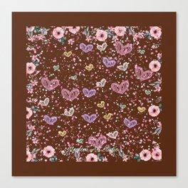 Flower Garden 3 Canvas Print