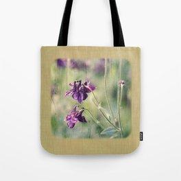 purple summer Tote Bag