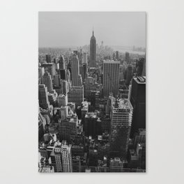 New York City Print Canvas Print