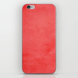 LowPoly Red iPhone Skin