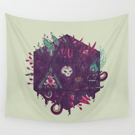 Die of Death Wall Tapestry