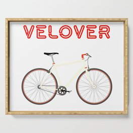 VeLover – Racer – June 12th – 200th Birthday of the Bicycle Serving Tray